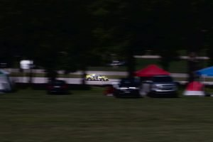 panning turn 3 exit at road america