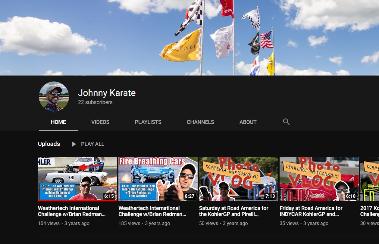 Might Restart The Road America VLOG on YouTube